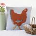 Chicken Pillow pattern