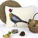 Pheasant Cushion pattern