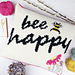 Bee Happy Cushion pattern