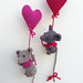 Sweetheart Mouse pattern