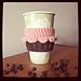Cupcake Coffee/Tea Cup Cozy FREE pattern