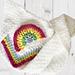 Charlotte's Rainbow Baby Blanket pattern