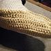 Crocheted Single Slipper pattern