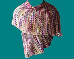 2008 -Whimsy Scarf in Sock Yarn