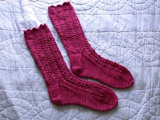 Fancy Silk Socks
