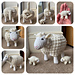 Sheep With Lambs pattern