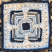 """End of My Rope 12"""" Square pattern"""