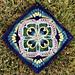 "Lancelot 12"" Square pattern"