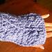 Amber Crochet Cable Fingerless Gloves pattern