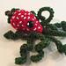 Strawberry Octopus pattern