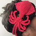 Cosmic Squid Head Band pattern