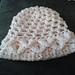 Little Petals Baby Crocodile Stitch Hat - 3 sizes pattern