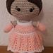 Standard Size Weebee Doll - Princess Mod Kit pattern