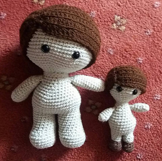 How to add Yarn Hair to Amigurumi Crochet Dolls with Hair Cap ... | 318x320