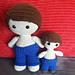 Weebee & Little Weebee - Trousers pattern