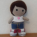 Weebee Doll - California Outift pattern