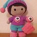 Weebee Doll - Friendly Monster Pyjamas pattern