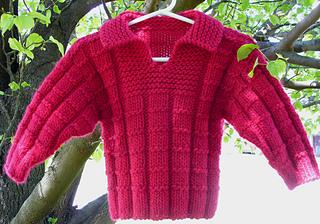 RedWaffleSweater