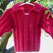 Waffles for Brunch Sweater pattern