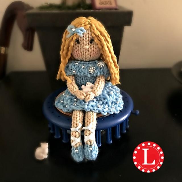 Ballerina doll amigurumi pattern - Amigurumi Today | 640x640