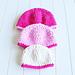 Velvet Baby Beanie pattern
