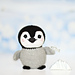 Penguin Fisher toy pattern
