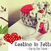 "Pattern Uncinetto: ""Cestini in Fettuccia - Small e Medium size"" (Step by Step Tutorial) pattern"