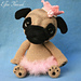 Queency The Pug Puppy pattern