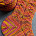 Herringbone Lace Socks pattern