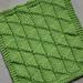 Flying Geese Dishcloth pattern