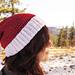 Classic Santa Elf Hat with Elf Ears pattern