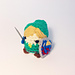 Legend of Zelda Link Kawaii Keychain pattern