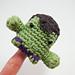 Hulk Amigurumi Finger Puppet pattern