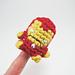 Iron Man Amigurumi Finger Puppet pattern