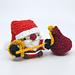 Santa Claus Mini Amigurumi pattern