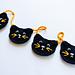 Black Cat Garland pattern