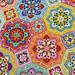 Eastern Jewels Colourway pattern