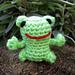 Mini Frog Amigurumi pattern