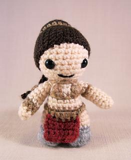 Star Wars Princess Leia and Han Solo Crochet Pattern/Amigurumi | Etsy | 320x262