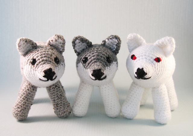 Gabriel the Grey Wolf Crochet pattern by Adriana Aguirre ... | 452x640