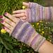 Purple Purl pattern