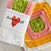 Sunshine Dishcloth & Tea Towel pattern