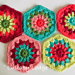 Granny Flower Hexagons pattern