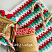 Candy Cane Dishcloth pattern
