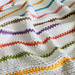 Dolly Stripe Baby Blanket pattern