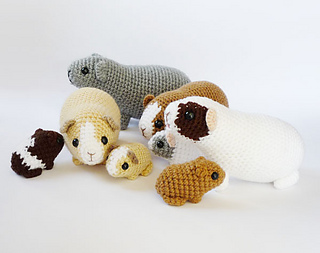 Hamster Amigurumi Kit – Snacksies Handicraft | 253x320