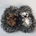 Shy Hedgehog pattern