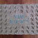 Shabbat Wheat Lace Challah Cover pattern