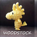 Woodstock amigurumi pattern