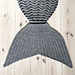 Havfrøken Tæppe | Siren Blanket pattern